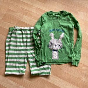 Gymboree Boys Easter Long Gymmies Pajamas 12